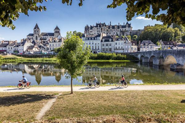 A velo a Saint-Aignan sur Cher - D.Darrault