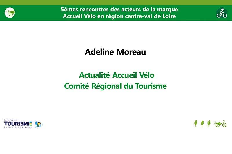 Actualités - Adeline Moreau