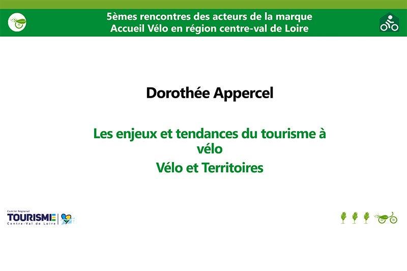 Le tourisme à Vélo en France-Dorothée Appercel