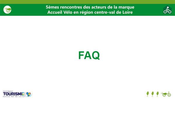 5èmes Rencontres acteurs marque Accueil Vélo – FAQ