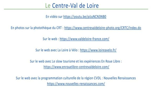 Liens - Conférence « Quelle offre en Centre-Val de Loire ? »