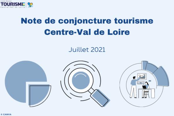 Note de conjoncture tourisme Centre-Val de Loire - Juillet 2021