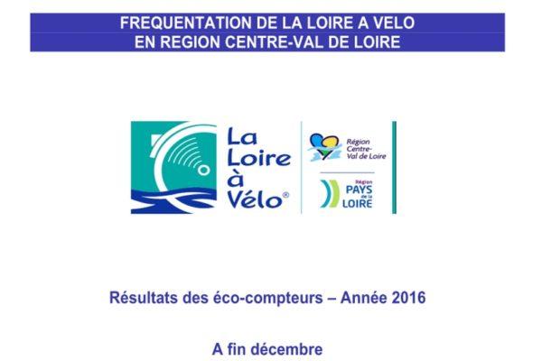 Fréquentation La Loire à Vélo 2016