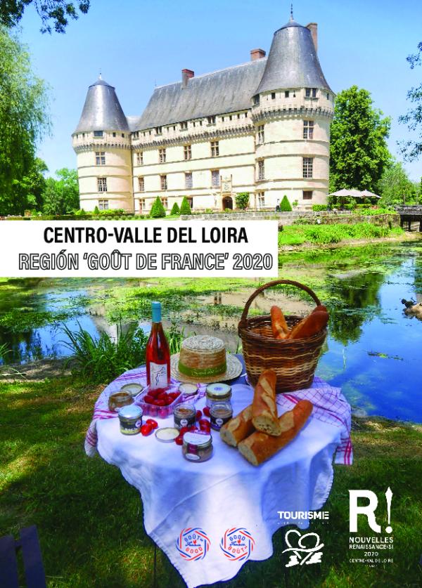"Dossier de prensa 2020 - Centro-Valle del Loira región ""Goût de France"" 2020"