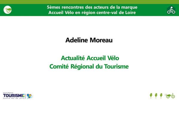 5èmes Rencontres acteurs marque Accueil Vélo - Actualité Accueil Vélo 2020-2021