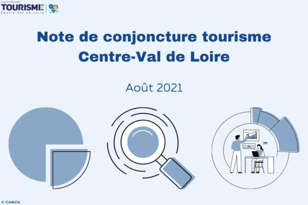 Note de conjoncture tourisme Centre-Val de Loire - Août 2021