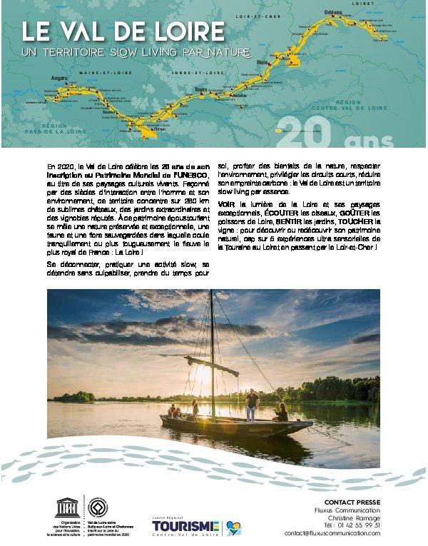 Le Val de Loire - un territoire slow living par nature