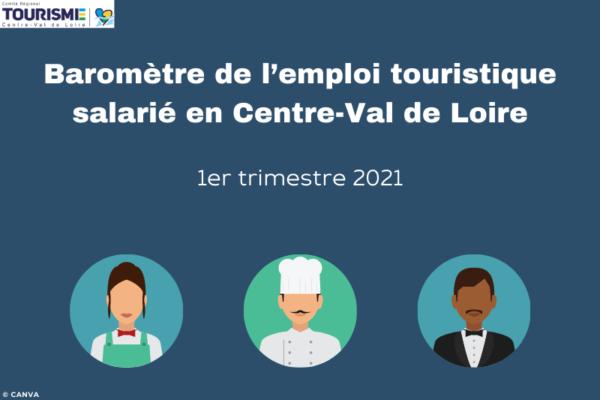 Baromètre de l'emploi touristique salarié en Centre-Val de Loire 2021