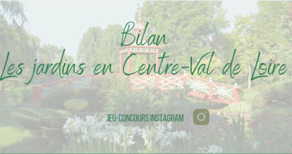 """Bilan jeu concours """"Le Printemps aux jardins"""""""