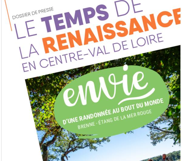 Plan de relance - Le temps de la Renaissance en Centre-Val de Loire