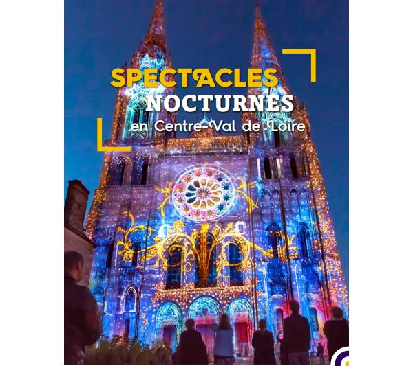 Communiqué de presse - Spectacles Nocturnes en Centre-Val de Loire