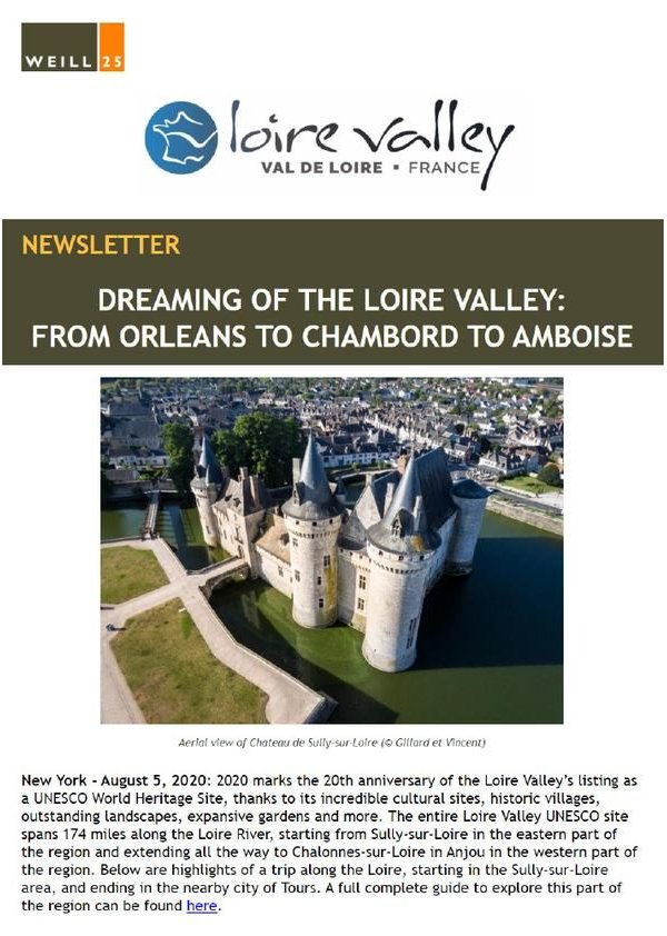 Dreaming of the Loire Valley : From Orleans to Chambord to Amboise
