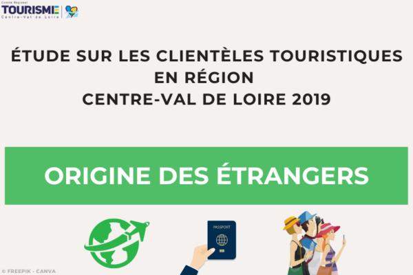 Enquête Clientèles 2019 - Origine des étrangers