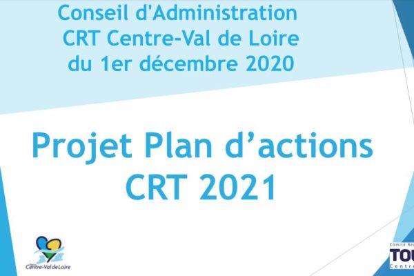 Plan d'actions 2021 du CRT