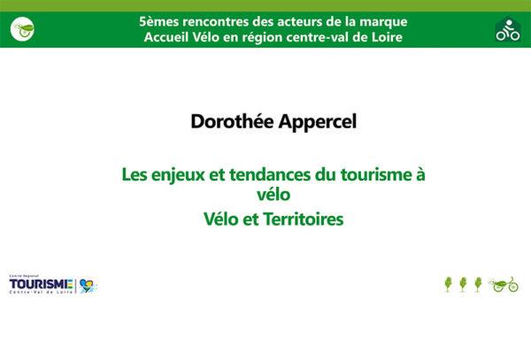 5èmes Rencontres acteurs marque Accueil Vélo - Le tourisme à Vélo en France